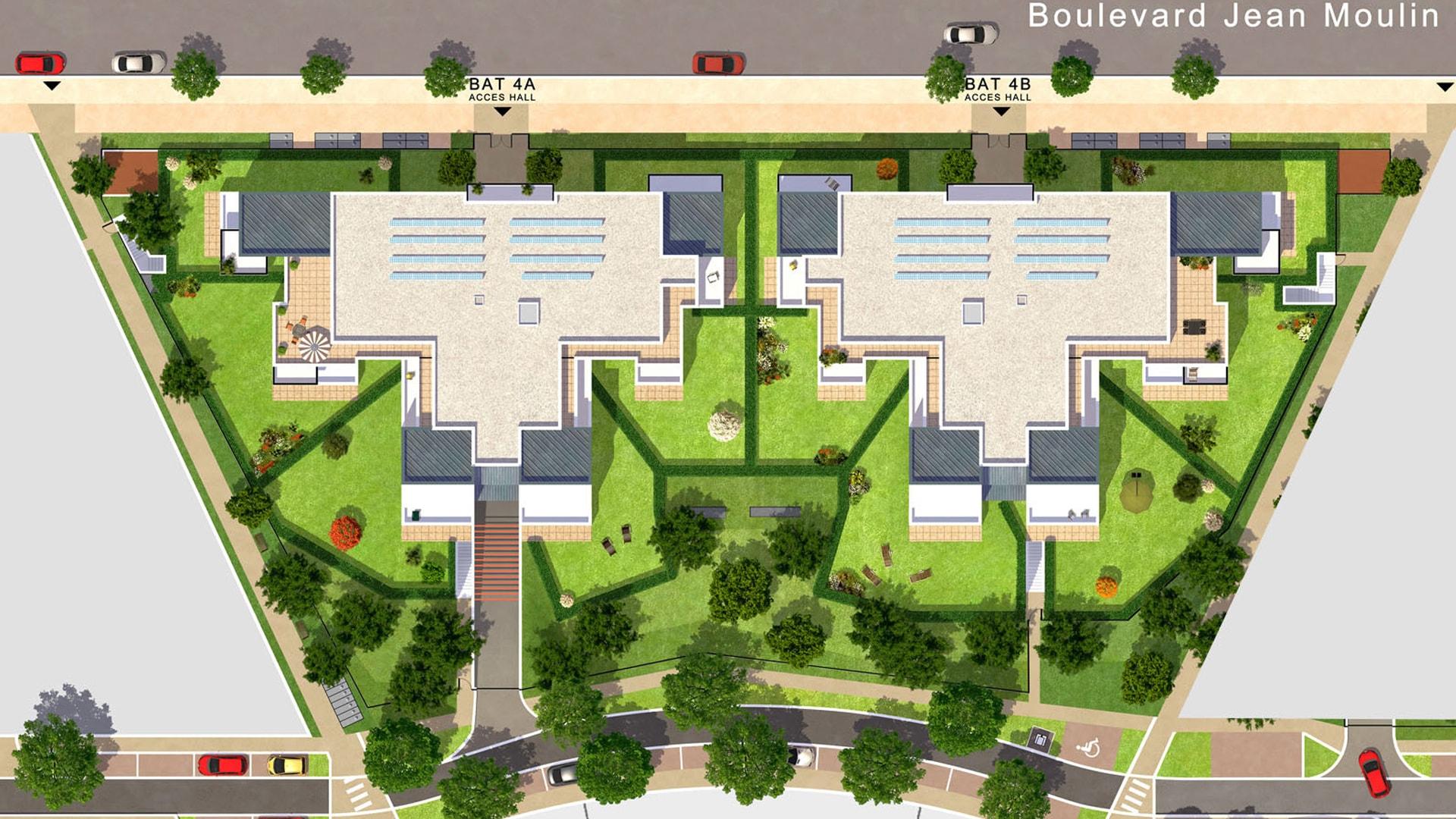 maison appartement moderne comtemporain immobilier elancourt